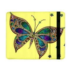 Butterfly Mosaic Yellow Colorful Samsung Galaxy Tab Pro 8 4  Flip Case