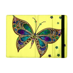 Butterfly Mosaic Yellow Colorful Ipad Mini 2 Flip Cases