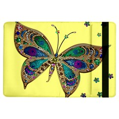 Butterfly Mosaic Yellow Colorful Ipad Air Flip