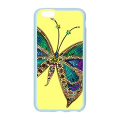 Butterfly Mosaic Yellow Colorful Apple Seamless iPhone 6/6S Case (Color)