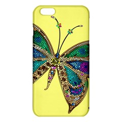 Butterfly Mosaic Yellow Colorful Iphone 6 Plus/6s Plus Tpu Case
