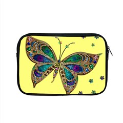 Butterfly Mosaic Yellow Colorful Apple Macbook Pro 15  Zipper Case