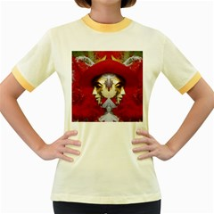 Carnival Düsseldorf Old Town Women s Fitted Ringer T Shirts