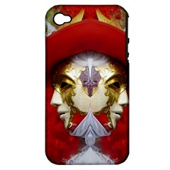Carnival Düsseldorf Old Town Apple Iphone 4/4s Hardshell Case (pc+silicone)