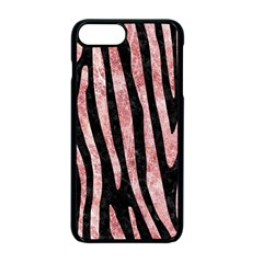 Skin4 Black Marble & Red & White Marble (r) Apple Iphone 7 Plus Seamless Case (black)