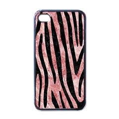 Skin4 Black Marble & Red & White Marble Apple Iphone 4 Case (black)