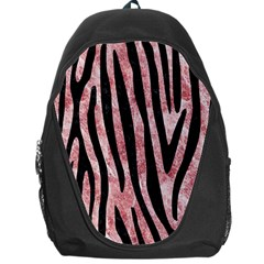 Skin4 Black Marble & Red & White Marble Backpack Bag