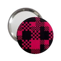 Cube Square Block Shape Creative 2 25  Handbag Mirrors