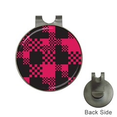 Cube Square Block Shape Creative Hat Clips With Golf Markers