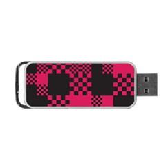 Cube Square Block Shape Creative Portable Usb Flash (one Side)