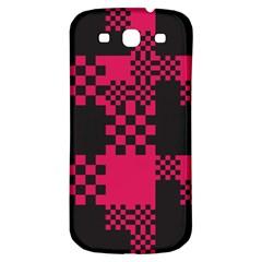 Cube Square Block Shape Creative Samsung Galaxy S3 S Iii Classic Hardshell Back Case