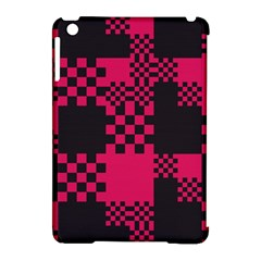 Cube Square Block Shape Creative Apple Ipad Mini Hardshell Case (compatible With Smart Cover)