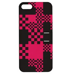 Cube Square Block Shape Creative Apple Iphone 5 Hardshell Case With Stand