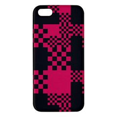 Cube Square Block Shape Creative Apple Iphone 5 Premium Hardshell Case