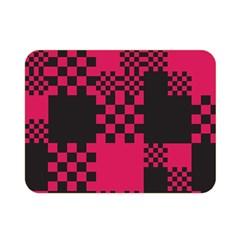 Cube Square Block Shape Creative Double Sided Flano Blanket (mini)