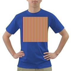 Pattern Background Red White Green Dark T Shirt