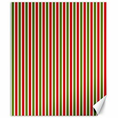 Pattern Background Red White Green Canvas 20  X 24