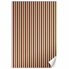 Pattern Background Red White Green Canvas 20  X 30