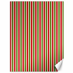 Pattern Background Red White Green Canvas 36  X 48