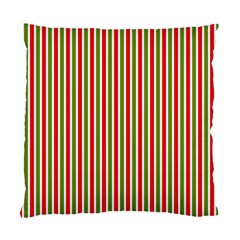 Pattern Background Red White Green Standard Cushion Case (one Side)