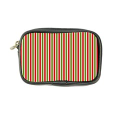 Pattern Background Red White Green Coin Purse