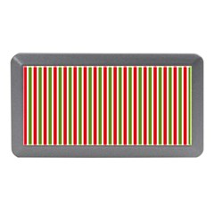 Pattern Background Red White Green Memory Card Reader (mini)