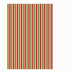 Pattern Background Red White Green Small Garden Flag (two Sides)