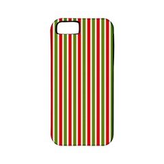 Pattern Background Red White Green Apple Iphone 5 Classic Hardshell Case (pc+silicone)