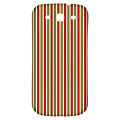 Pattern Background Red White Green Samsung Galaxy S3 S Iii Classic Hardshell Back Case