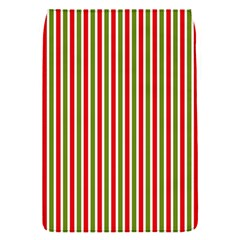 Pattern Background Red White Green Flap Covers (s)