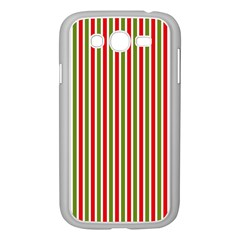 Pattern Background Red White Green Samsung Galaxy Grand Duos I9082 Case (white)