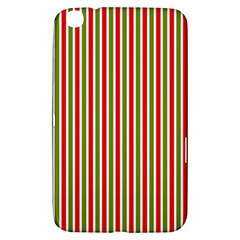 Pattern Background Red White Green Samsung Galaxy Tab 3 (8 ) T3100 Hardshell Case