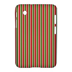 Pattern Background Red White Green Samsung Galaxy Tab 2 (7 ) P3100 Hardshell Case