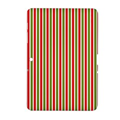 Pattern Background Red White Green Samsung Galaxy Tab 2 (10 1 ) P5100 Hardshell Case