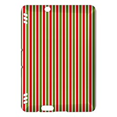 Pattern Background Red White Green Kindle Fire Hdx Hardshell Case