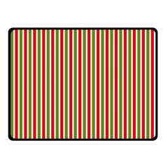 Pattern Background Red White Green Double Sided Fleece Blanket (small)