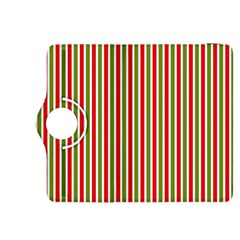 Pattern Background Red White Green Kindle Fire Hdx 8 9  Flip 360 Case