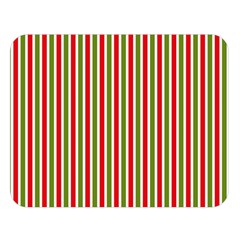 Pattern Background Red White Green Double Sided Flano Blanket (large)