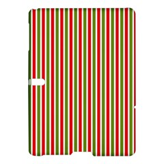 Pattern Background Red White Green Samsung Galaxy Tab S (10 5 ) Hardshell Case
