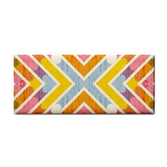 Line Pattern Cross Print Repeat Cosmetic Storage Cases