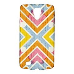 Line Pattern Cross Print Repeat Galaxy S4 Active