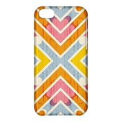 Line Pattern Cross Print Repeat Apple Iphone 5c Hardshell Case