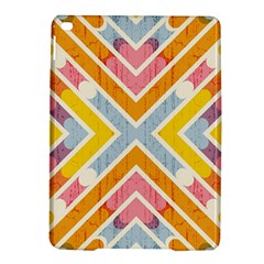 Line Pattern Cross Print Repeat Ipad Air 2 Hardshell Cases