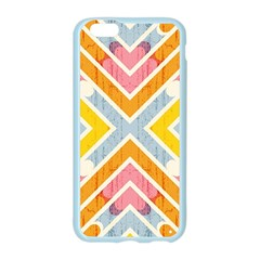 Line Pattern Cross Print Repeat Apple Seamless iPhone 6/6S Case (Color)