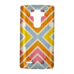 Line Pattern Cross Print Repeat Lg G4 Hardshell Case
