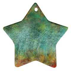 Rainforest Star Ornament (two Sides)