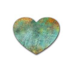 Rainforest Heart Coaster (4 pack)