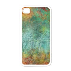 Rainforest Apple Iphone 4 Case (white)