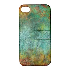 Rainforest Apple Iphone 4/4s Hardshell Case With Stand