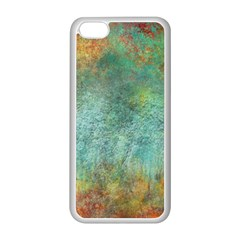 Rainforest Apple Iphone 5c Seamless Case (white)